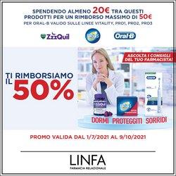 Offerte di Linfa Farmacie nella volantino di Linfa Farmacie ( Per altri 13 giorni)