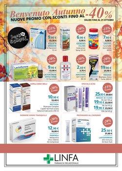 Offerte di Salute e Ottica nella volantino di Linfa Farmacie ( Per altri 10 giorni)