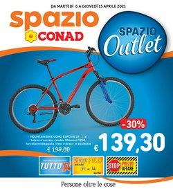 Offerte Iper Supermercati nella volantino di Spazio Conad a Catania ( Scade oggi )