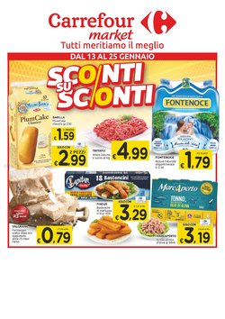 Catalogo Carrefour Sud Italia Market a Messina ( Scaduto )