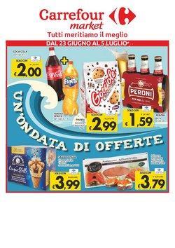 Offerte di Carrefour Sud Italia Market nella volantino di Carrefour Sud Italia Market ( Pubblicato ieri)