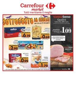 Offerte di Iper Supermercati nella volantino di Carrefour Sud Italia Market ( Pubblicato ieri)