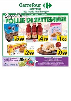 Offerte di Carrefour Sud Italia Express nella volantino di Carrefour Sud Italia Express ( Scade domani)
