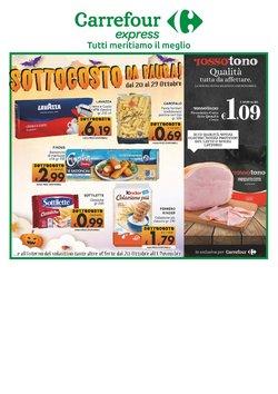 Offerte di Iper Supermercati nella volantino di Carrefour Sud Italia Express ( Pubblicato ieri)