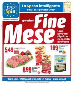 Offerte Iper Supermercati nella volantino di Eurospin a Novara ( Pubblicato ieri )