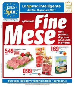 Offerte Iper Supermercati nella volantino di Eurospin a Afragola ( Pubblicato ieri )