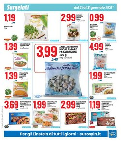 Offerte di Frutti di mare a Eurospin