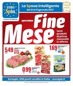 Offerte Iper Supermercati nella volantino di Eurospin a Santa Teresa di Riva ( 3  gg pubblicati )