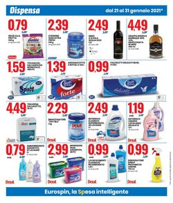 Offerte di Birra in bottiglia a Eurospin