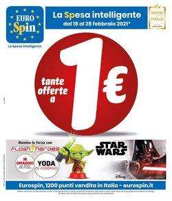Offerte Iper Supermercati nella volantino di Eurospin a Catania ( Scade oggi )