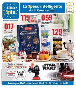 Offerte Iper Supermercati nella volantino di Eurospin a La Spezia ( 3  gg pubblicati )