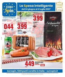 Offerte di Discount nella volantino di Eurospin ( Pubblicato oggi)