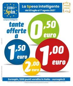 Offerte di Discount nella volantino di Eurospin ( Scade oggi)
