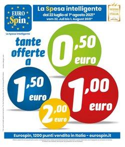 Offerte di Iper Supermercati nella volantino di Eurospin ( Per altri 8 giorni)