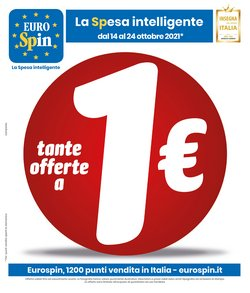 Offerte di Eurospin nella volantino di Eurospin ( Scade domani)
