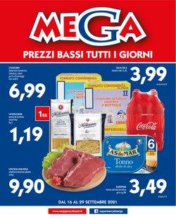 Offerte di Iper Supermercati nella volantino di MEGA ( Scade domani)