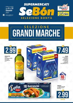 Offerte Iper Supermercati nella volantino di SeBón a Caserta ( Per altri 4 giorni )