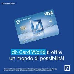 Offerte di Banche e Assicurazioni nella volantino di Deutsche Bank ( Più di un mese)