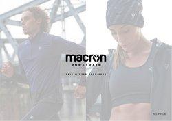 Offerte di Sport nella volantino di MACRON ( Pubblicato oggi)