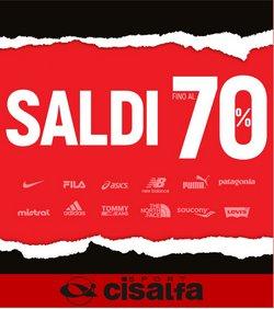 Offerte di Cisalfa Sport nella volantino di CISALFA OUTLET ( Per altri 12 giorni)