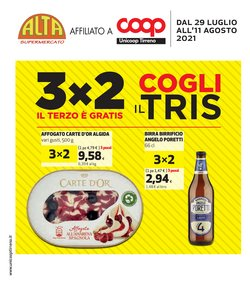Offerte di Iper Supermercati nella volantino di Coop Unicoop Tirreno ( Per altri 10 giorni)