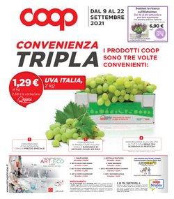 Offerte di Coop Unicoop Tirreno nella volantino di Coop Unicoop Tirreno ( Per altri 5 giorni)