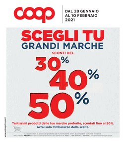 Catalogo In Coop Unicoop Tirreno ( 2  gg pubblicati )