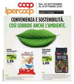 Offerte di Iper Supermercati nella volantino di Ipercoop Unicoop Tirreno ( Pubblicato oggi)
