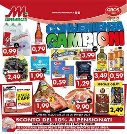 Offerte di MA Supermercati nella volantino di MA Supermercati ( Per altri 11 giorni)