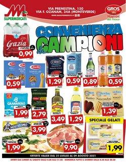 Offerte di MA Supermercati nella volantino di MA Supermercati ( Scade oggi)