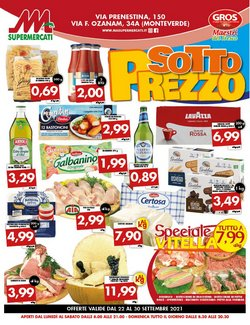 Catalogo MA Supermercati ( Pubblicato oggi)