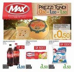 Offerte di Iper Supermercati nella volantino di Max Supermercati ( Per altri 2 giorni)