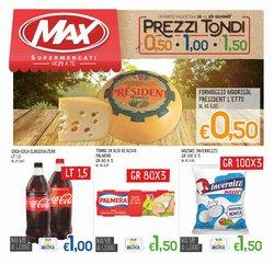 Offerte di Iper Supermercati nella volantino di Max Supermercati ( Per altri 7 giorni)