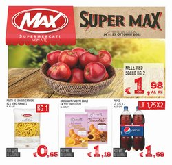 Offerte di Max Supermercati nella volantino di Max Supermercati ( Per altri 6 giorni)