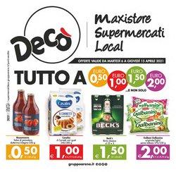 Catalogo Deco Maxistore Gruppo Arena ( Scaduto )