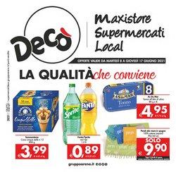 Catalogo Deco Maxistore Gruppo Arena ( Scade domani)