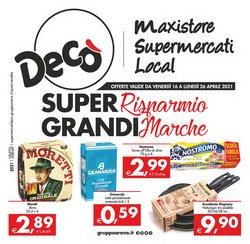 Catalogo Deco Supermercati Gruppo Arena ( 2  gg pubblicati )