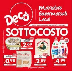 Offerte di Deco Supermercati Gruppo Arena nella volantino di Deco Supermercati Gruppo Arena ( Scade domani)