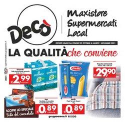 Catalogo Deco Supermercati Gruppo Arena ( Pubblicato ieri)