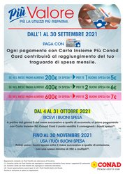 Offerte di Iper Supermercati nella volantino di Conad Adriatico ( Per altri 13 giorni)
