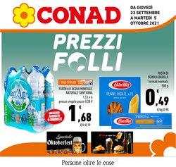 Offerte di Iper Supermercati nella volantino di Conad Adriatico ( Pubblicato oggi)