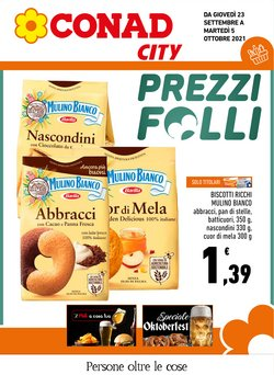 Offerte di Iper Supermercati nella volantino di Conad City Adriatico ( Per altri 6 giorni)