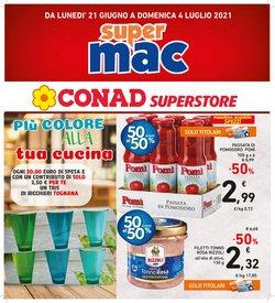 Offerte di Iper Supermercati nella volantino di Conad Superstore Adriatico ( Pubblicato ieri)