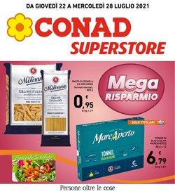 Offerte di Iper Supermercati nella volantino di Conad Superstore Adriatico ( Per altri 4 giorni)