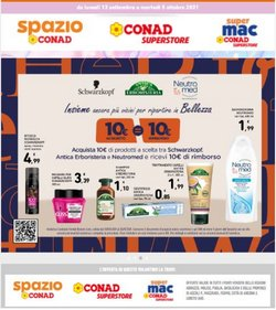 Offerte di Iper Supermercati nella volantino di Conad Superstore Adriatico ( Pubblicato oggi)