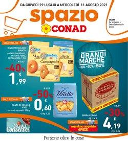 Offerte di Iper Supermercati nella volantino di Spazio Conad Adriatico ( Pubblicato ieri)