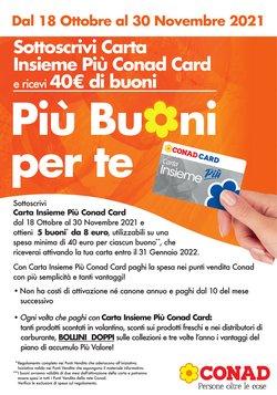 Offerte di Iper Supermercati nella volantino di Spazio Conad Adriatico ( Più di un mese)