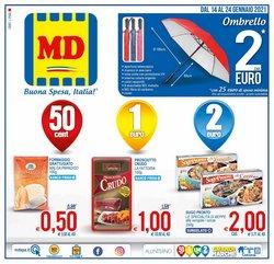 Offerte Discount nella volantino di MD Discount a Rieti ( Per altri 6 giorni )
