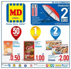 Offerte Discount nella volantino di MD Discount a Massa ( Per altri 5 giorni )
