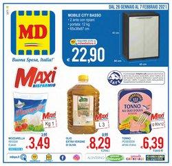 Offerte Discount nella volantino di MD Discount a Mascalucia ( Pubblicato oggi )